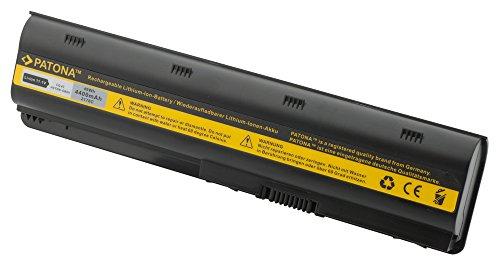 PATONA Batterie pour Laptop / Notebook HP Compaq Presario CQ32 | CQ42 | CQ62 | CQ72 - HP Envy 17 G62 | G62t | G72 - HP Pavilion dm4-1000 | dm4-1001tu | dm4-1002tx | dm4-1008tx | dm4-1009tx | dm4-1010tx | dm4-1013tx | dm4-1014tx | dm4t et bien plus encore... - [ Li-ion; 4400mAh; noir ]