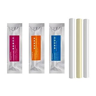 Nachfüller für Lufterfrischer massiv, Ersatz Aroma Bars–Aroma 3Schwamm Sticks (Köln, ocean, magnetisch)