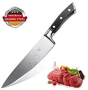 Küchenmesser Kochmesser Chefmesser 20 cm Allzweckmesser Sehr Scharfe Klinge Rostfreier Stahl Köche Messer zum Schneiden