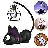 Treeshu LED schreibtischlampe, Schöne cat Lampe, Nachttisch-Leuchte faltbar für Schlafzimmer inkl, Cat Lampe Funktioniert einwandfrei Einfache bedienung Hell genug Wirklich schön, A