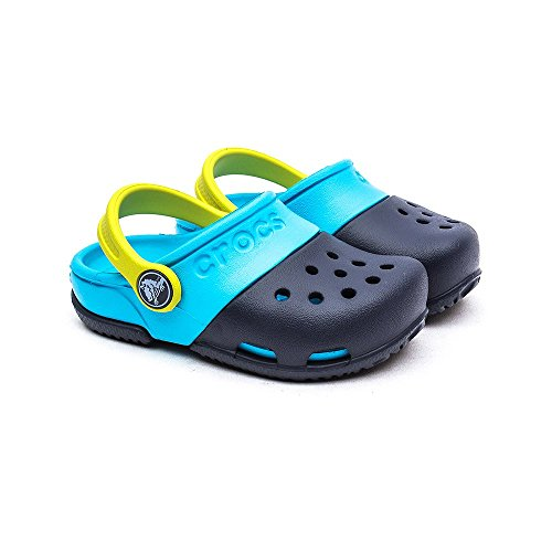 Crocs Electro Ii, Sabots - Mixte enfant Navy/Electric Blue