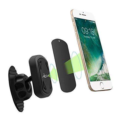 All Cart magnetischer Autotelefonhalter, Universal 360 Grad für iPhone, IPod, Fahrwerk, HTC, Nokia, Moto Smartphone und GPS