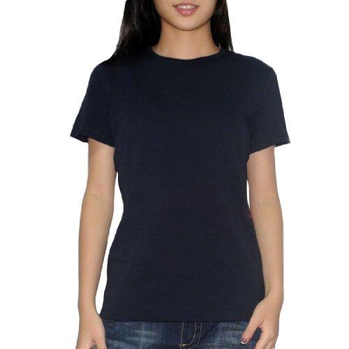 liz-claiborne-damen-rundhals-kurzarm-t-shirt-t-size-1x-dunkle-blau