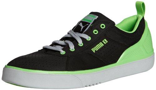 Puma Zanthem S Lite 354684, Sneaker uomo Nero (Schwarz (black-FLUO GREEN-high-ris 02))