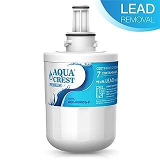 AQUACREST DA29-00003G NSF 53&42 Fridge Water Filter, compatible with Samsung Aqua Pure PLUS DA29-00003G DA29-00003B HAFIN2/EXP DA29-00003A DA97-06317A HAFCU1/XAA