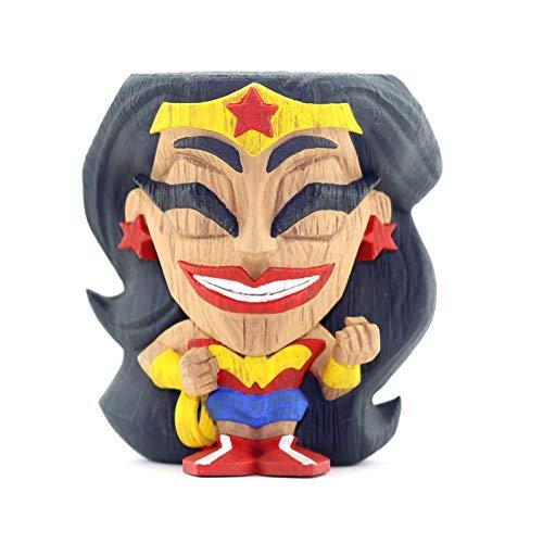 Unbekannt DC Comics Teekeez Vinyl Figure Series 1 Wonder Woman 8 cm Cryptozoic Mini - Wonder Woman Mini