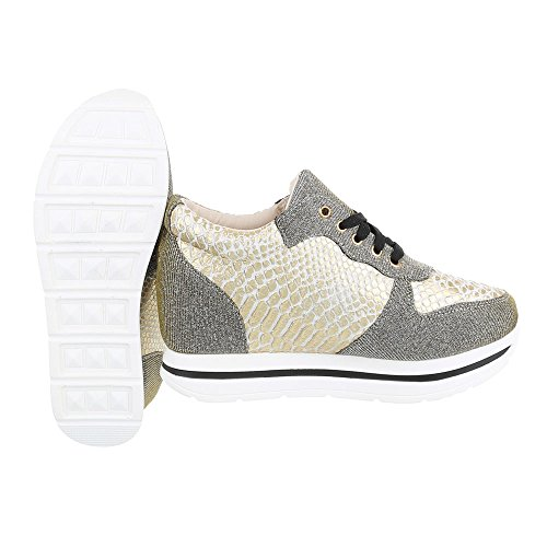 ... Keilabsatz design Gold Schn Sneakers wedge Ital top Freizeitschuhe  Beige Damenschuhe Sneaker Low rsenkel dXnB7UBwSq ... 6fc426d89a