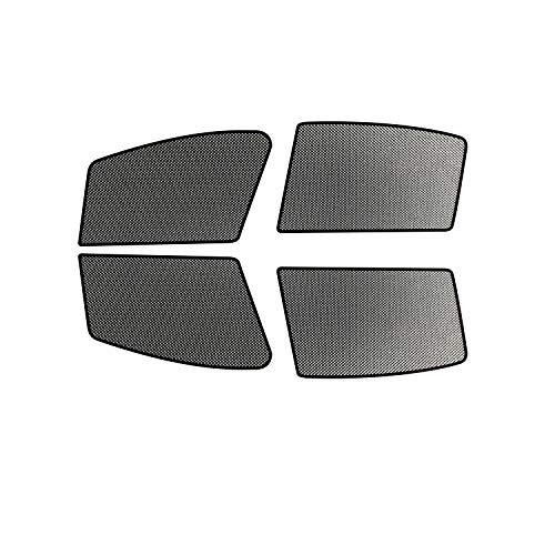 RUIYA Autofenster Sonnenschirm Angepasst für 2013-2018 Octavia 3,Premium Auto Sun Shade für vollen UV-Schutz (4 Stück)