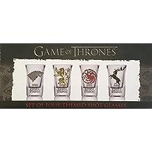 got 10715–Game of Thrones Shooter shot Glass set–Baratheon–Targaryen Stark–Lannister