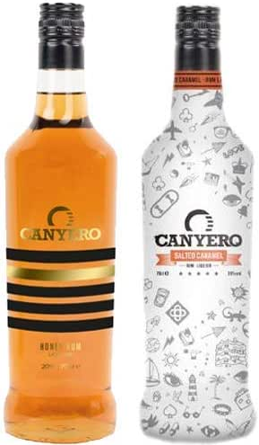 Canyero Salted Caramel & Honey Rum Duo - 2 x 70cl
