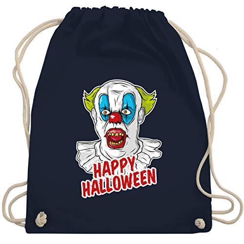 Halloween - Happy Halloween - Clown - Unisize - Navy Blau - WM110 - Turnbeutel & Gym ()