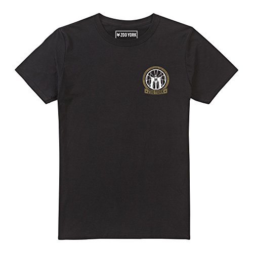 Zoo York Herren T-Shirt Brooklyn Bridge, Schwarz, XX-Large (T-shirt Brooklyn Schwarz)