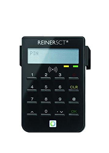 REINER SCT cyberJack RFID Chip-Kartenlesegerät standard | Generator für Online-Banking (HBCI / FinTS / EBICS); Elster; Personalausweis