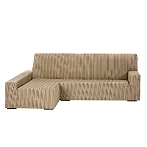Martina Home Elastic Cover for Sofa Chaise Longue Left-Hand 32x42x17 cm beige