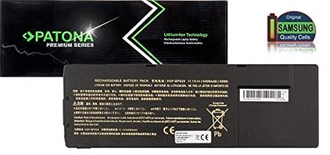 PATONA Premium Laptop Akku mit (5200mAh Samsung inside) für Sony Vaio VGP-BPL24 VGP-BPS24 VGP-BPSC24 (ragt nicht über das Gehäuse hinaus!)