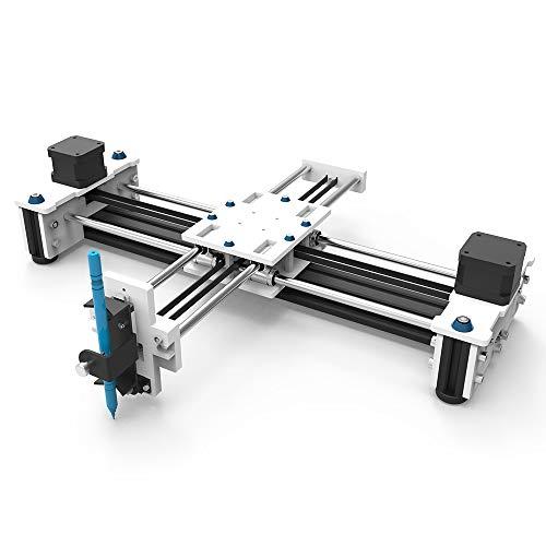 Baugger Graviermaschine - Desktop Eleksdraw USB DIY Xy Plotter Stift Zeichnung Roboter Zeichnung Maschine 100-240V