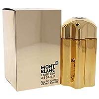Mont Blanc Perfume  - Mont Blanc Emblem Absolu - perfume for men - Eau de Toilette, 100ml