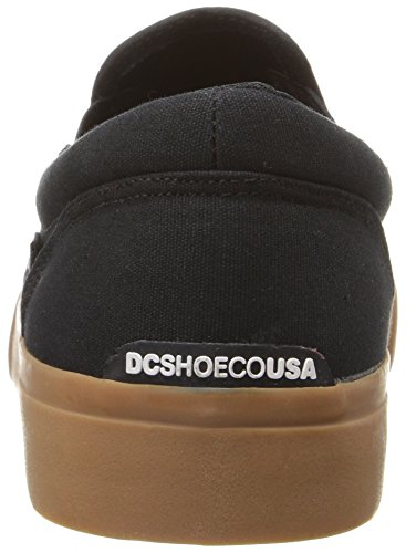 DC Trasé homme Slip-On TX Slip On Chaussures Black/gum