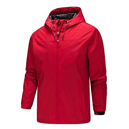 Innerose ❤ uomo capispalla giacca cappotto felpe, uomini alpinismo tuta asciugatura giacca a vento veloce outdoor sportswear jacket windbreaker maglione con cappuccio