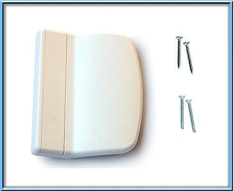 Poignée de traction balcon/terrasse Poignée de porte Blanc