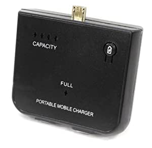 7dayshop - Micro B USB Portable Battery Charger for Amazon Kindle / HTC / Nokia / Samsung / Blackberry / Sony Ericsson etc