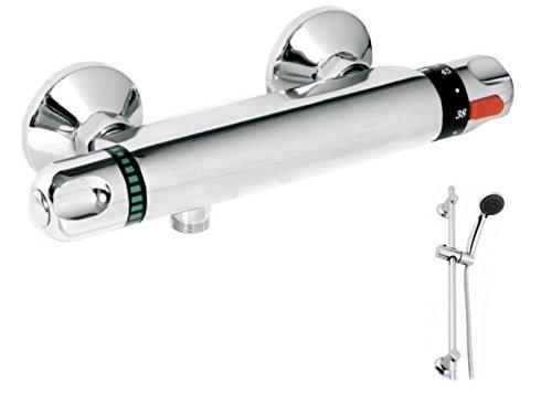 Generic.. AP allian Armatur Allianz Bar Mixer Ventil chrom Akne-Gleitschiene nces Gleitschiene Thermostat Bar Mixer EAD Set Schlauch Head Set -