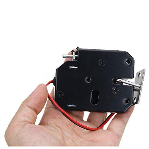 Jenix Smart 12V 2A Intelligent Electric Door Lock for File Cabinet Door Drawer Electronic Lock