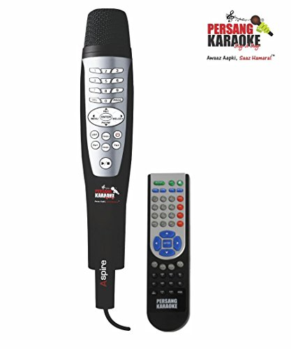 Persang Karaoke Aspire | Wired Karaoke System/Player | Affordable Karaoke Microphone