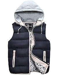 Saoye Fashion Giacca Invernale Da Uomo Simile Autunno E Inverno Con  Cappuccio Giovane Staccabile Giacca Calda 2db1bb100d2