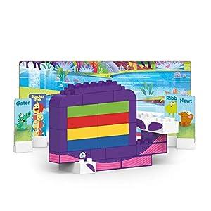 BIOBUDDI Swampies BB-0154 Juguete de construcción - Juguetes de construcción (Juego de construcción, Multicolor, 1,5 año(s), 45 Pieza(s), Niño/niña, Niños)