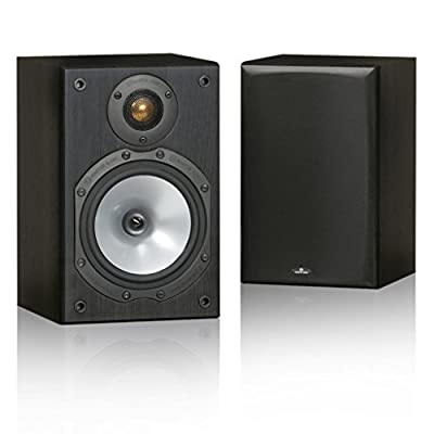Monitor Audio MR1 Speakers (Pair) (Black) from MONITOR AUDIO
