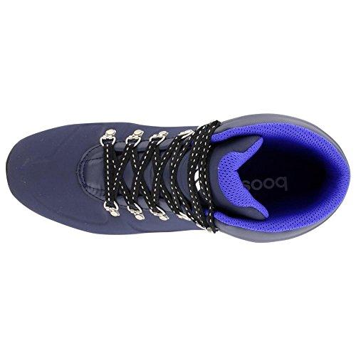 Adidas Outdoor Boost städtischen Wanderer CW Primaloft Boot–Schwarz/Bold Orange/Weiß 6 Col Navy/Black/Night Flash