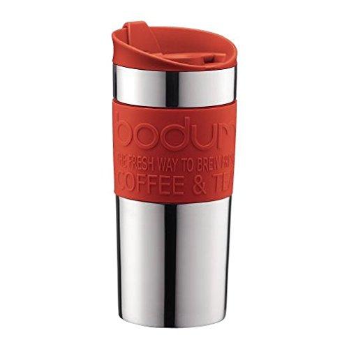 Bodum Acciaio Inox Vuoto Tazza Di Corsa 0.35L / Red 12 Once (Confezione da 2)