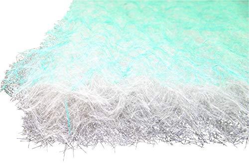 Bodenfilter Vorfilter für Farbnebel 1,50m x 20m Dicke ca.70mm G3 - für Lackierung Farbnebel Filter Farben Lacke Akryl Lackierbox -