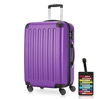 Hauptstadtkoffer – Spree, Luggage Suitcase Hardside Hard Shell Spinner Trolley 4 Wheel Case, TSA, (S,M,L)