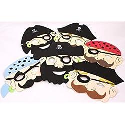 Máscara de pirata para disfraz infantil.