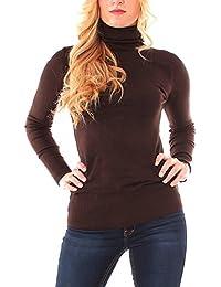 4dc1a68081ce Suchergebnis auf Amazon.de für  damen pullover dunkelbraun  Bekleidung