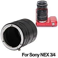 Macro Extension Anello Tubo per Sony NEX-5N / NEX-C3 / NEX-5C / Nex-7 / NEX-5 / NEX-3 - Tubo Extender Kit