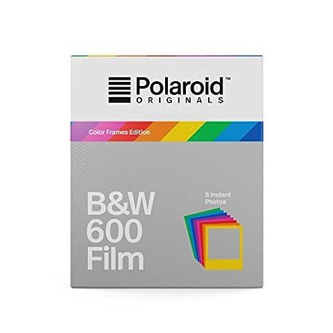 Polaroid Originals 4673 Film pour Appareil Polaroid 600 Noir/Blanc