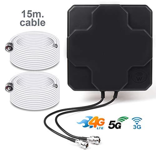 BOOSTCELL Antena 4G LTE Router MIMO Zonas Mala Cobertura
