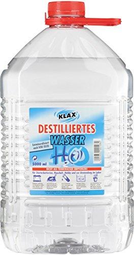Preisvergleich Produktbild Destilliertes Wasser 5 Liter 130043K