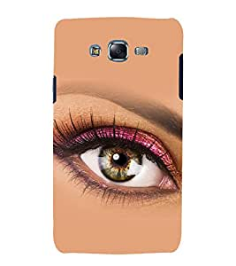 printtech Beautiful Girl Eye Back Case Cover for Samsung Galaxy A7 / Samsung Galaxy A7 A700F