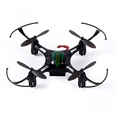 Mini Drone RC Quadcopter with 2 Batteries,UDIRC U839 2.4G 4CH Nano Drone with Headless Mode,LED Light,RTF Mode 2 RC Helicopter by FPVRC