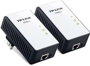 TP-Link TL-PA511KIT -Pack de 2 Adaptateurs CPL Gigabit Ethernet Powerline 500 Mbps Blanc/Noir