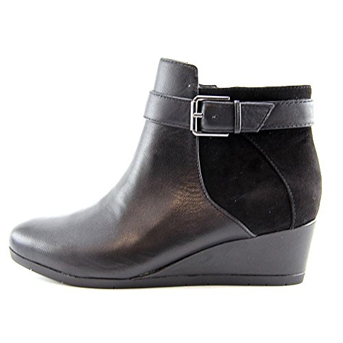 Giani Bernini Chelseaa Cuir Bottine Black