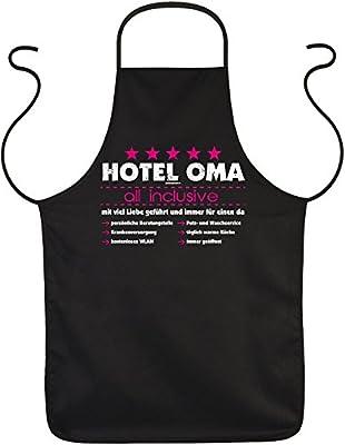 Goodman Design Schürze zum Kochen, Grillen und backen - Hotel Oma, All Inclusive