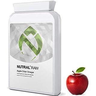 500mg Vegan Apple Cider Vinegar Capsules by Nutral RAW - 120 Vegan Capsules