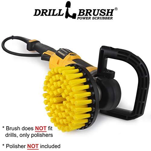 Drillbrush Ronda de 18 cm de nylon friega el cepillo de Rotary...