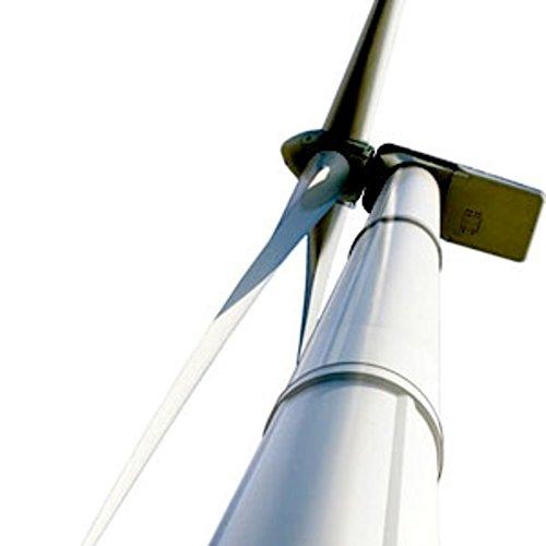 Turm-Wind-Turbine-Windschutz 6m hoch und 48mm Durchmesser mit 4pinzas-cablematic