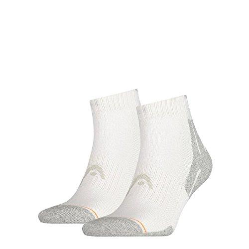 Head Performance Quarter Length Branded Sport Socks (Pack of 2)